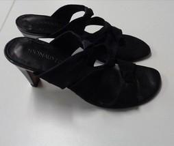Sandal DONALD PLINER J 5 Strappy High B3145 6 Black Heel Synthetic Size qTfUYqw