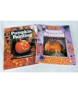 Pumpkin Painting Decorating 2 Books Halloween Craft - $6.79