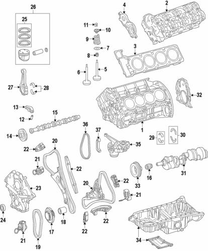 Genuine Mercedes-Benz Actuator 278-050-50-00