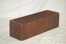 Vintage Antique Ornate Wooden Oak Singer Treadle Sewing Machine Cabinet Drawer d - $52.80 CAD