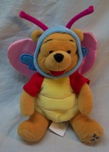 Walt Disney Easter 2000 WINNIE THE POOH AS BUTTERFLY Bean Bag STUFFED AN... - $14.85