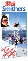 1990-1991 Ski Smithers (now Hudson Bay Mountain, British Columbia) Trail... - $6.00