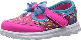 SKECHERS KIDS Baby Girl's Go Walk 81138N (Toddler/Little Kid) Multi Shoe - $55.69