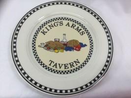 Homer Laughlin Seville Williamsburg Tavern Plates King's Arms Tavern - $18.80