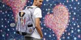 Aviation 88 Designer Multi Pocket Luggage Shoulder Bag Embroidered MA-1 Backpack image 4