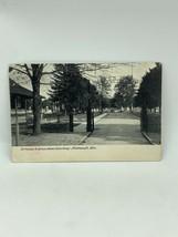 Entrée Pour Vert Pelouse Cimetière Portsmouth Ohio Carte Postale - $10.02