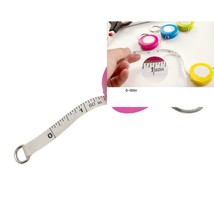 Tape Measure Retractable Measuring for Cloth Body 60 in, Red - $4.48