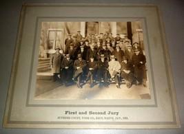 Saco, Maine York Co. Supreme Court Jury #2 - 14x12 Cabinet Photo (1928) - $29.75