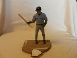 2004 Hideki Matsui New York Yankees #55 Figurine Batting Road Gray - $22.28