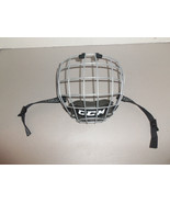 CCM Sports Ice Roller Hockey FMO6 Face Shield Cage Size S Perfect Condition - $18.76