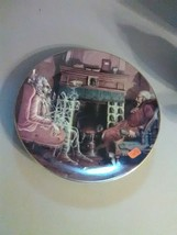 """Dept 56 """"A Christmas Carol"""" Plate - Marley's Ghost Appears to Scrooge""""- 1992 - $18.35"""
