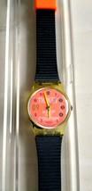 Vintage Swatch LK136 World Order 1992 Ladies Watch Originals New Old Stock - $48.50