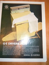 Vintage General Electric Dryer Print Magazine Advertisement 1966 - $3.99