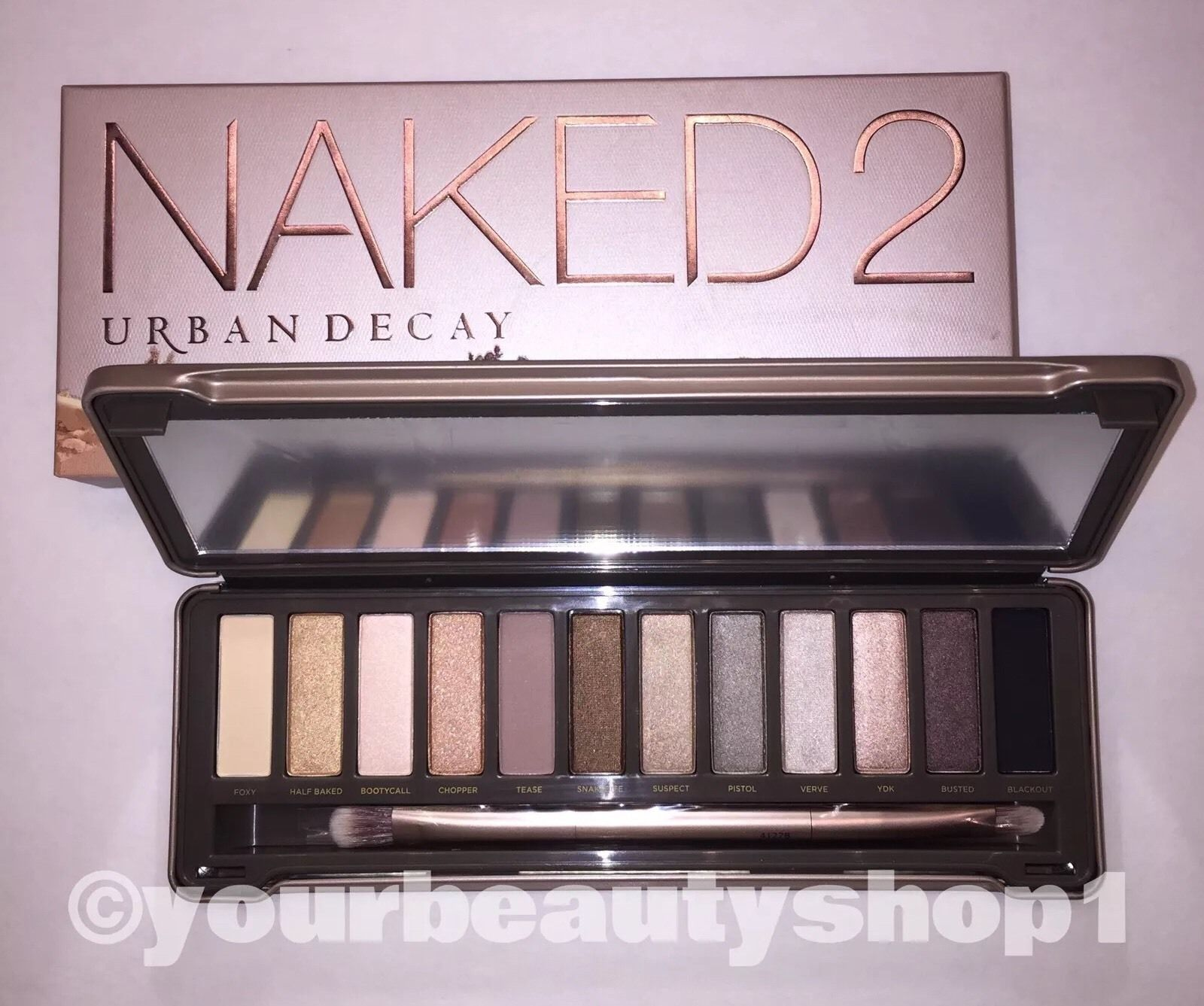 Primary image for Brand New URBAN DECAY NAKED 2 Palette Eye Shadow 100%Authentic Priority Shipping