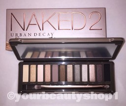 Brand New URBAN DECAY NAKED 2 Palette Eye Shadow 100%Authentic Priority ... - $51.51