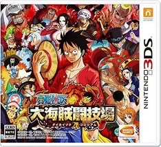 One Piece Dai Kaizoku Colosseum 3DS Japan Import [video game] - $36.80