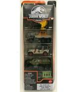 Matchbox  - GKJ05 - Jurassic World - Total Tracker Team - Pack of 5 - $15.79