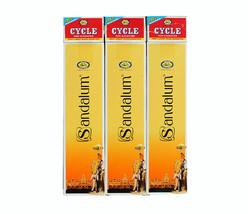 Cycle Sandalum Incense Sticks w/ Match Box Sandalwood Fragrance Scent 10... - $8.99+