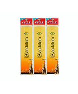 Cycle Sandalum Incense Sticks w/ Match Box Sandalwood Fragrance Scent 10... - $8.99+