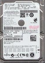 MJA2080BH, PN CA07083-B56000DL, Fujitsu 80GB SATA 2.5 Hard Drive