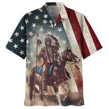 Unisex 3D Hawaiian Shirt Horse Summer Hawaiian Shirt 11 - £28.96 GBP
