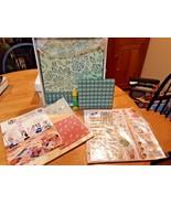 Memories Direct 12x12 Scrapbook Album Huge kit! Green - $14.84