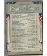 Pair of WW II Era READER'S DIGEST Magazines (Feb. & May, 1943) Very Good... - $12.50