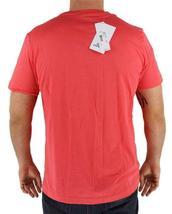 Lacoste Men's Athletic Cotton V-Neck  T-Shirt Santal image 4