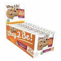 WHEY 2 BE | PROTEIN COOKIE | 20 g of Protein each | Bakers White (12 ct) - $24.70