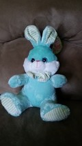 "2016 Easter Bunny Aqua Brand New Plush Stuffed Animal Nwt 16"" Sugar Loaf - $9.99"