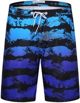 Men's APTRO Swim Trunks Summer Palm Tree Beachwear Long Board Shorts - 3XL image 2