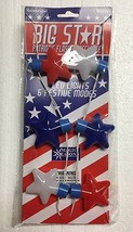 Patriot Pride Patriotic 9 LED Lights 6 ModesNecklace American Stars Lot ... - €22,27 EUR