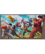 Street Fighter vs Mortal Kombat Glossy Art Print 11 x 17 In Hard Plastic... - $24.99