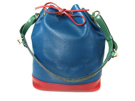 Auth LOUIS VUITTON Noe Epi Leather Tri Color Color Drawstring Shoulder B... - $360.00