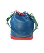 Auth LOUIS VUITTON Noe Epi Leather Tri Color Color Drawstring Shoulder B... - $360.00