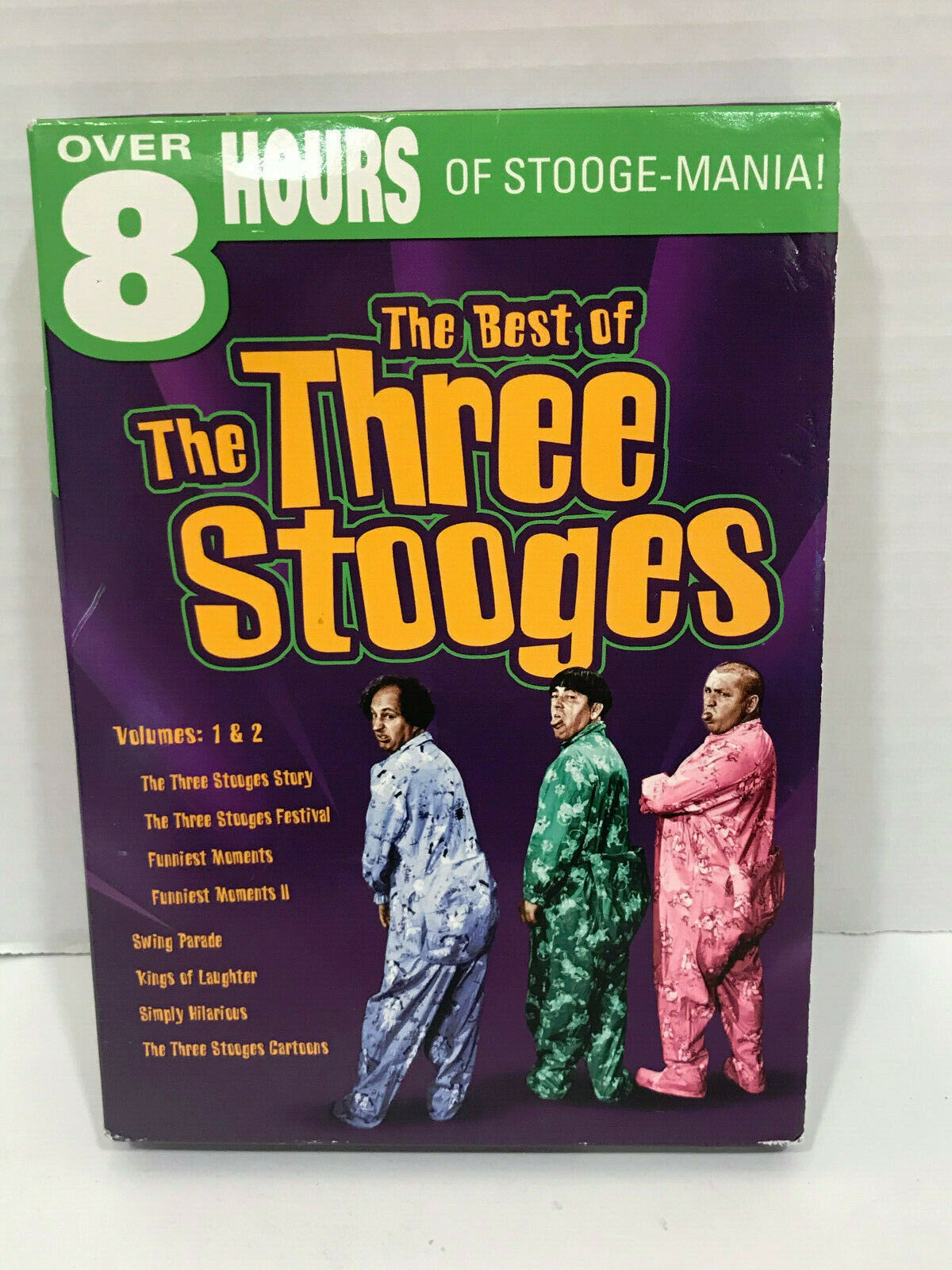 Primary image for The Best of the Three Stooges Good times DVD 2 DVD Set