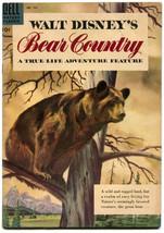 Walt Disney's Bear Country 758 VF- 7.5 Dell Four Color 1956 True Life Ad... - $27.71