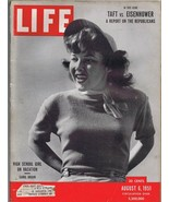 ORIGINAL Vintage August 6 1951 Life Magazine High School Girl on Vacation - $18.51