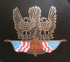 VTG Couroc Bicentennial Eagle USA Serving Tray Monterey - $19.99