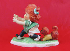 HUMMEL / CHARLOT BYJ Red Head Figurine by Goebel - E-E-E-ck  - $195.00