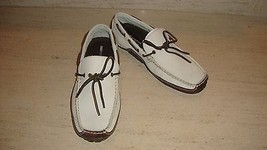 Sporty Nwb Rockport Casual Slip Ons Shoes In Off White Leather - $79.00