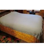 Vintage Pendleton Virgin Wool  Mint Green Blanket Coverlet Throw Bedspre... - $90.00