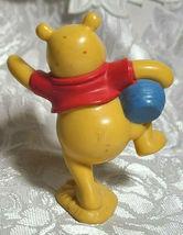 "WINNIE THE POOH BEAR 3"" Cake Topper Figure PVC Plastic Toy Disney Honey Pot image 6"