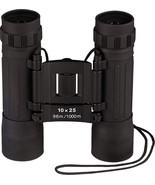 Black Military 10 x 25 MM Compact Zoom Binoculars - $22.99