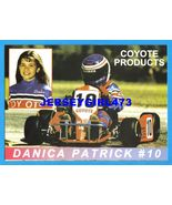 Danica Patrick Age 13 1995 Go-Kart Racing 5x7 Card ~ Her Very First Card - $300.00