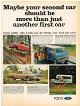 Vintage 1969 Magazine Ad Ford Trucks All Models Do What Car Can't / Gene... - $5.93