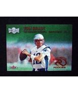 2000 Fleer Metal Emerald #267E Tom Brady [New England Patriots] Rookie RP - $5.00
