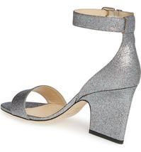 Jimmy Choo Edina Ankle Strap Sandal Size 38 MSRP: $695.00 image 3