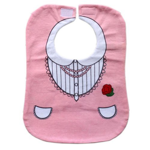 Princess Neat Solutions Baby Burp Cloths Infant Toddle Bib Pink Set of 2