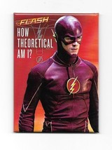 DC Comics The Flash TV Series How Theoretical Am I? Refrigerator Magnet UNUSED - $3.99